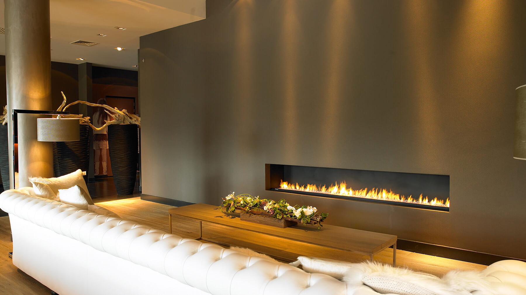 In-wall Gas Fireplace Insert Installation & Gas Line Hooku-up in Massachusetts