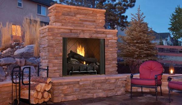 Outdoor Gas Fireplace Installation Experts in Massachusetts