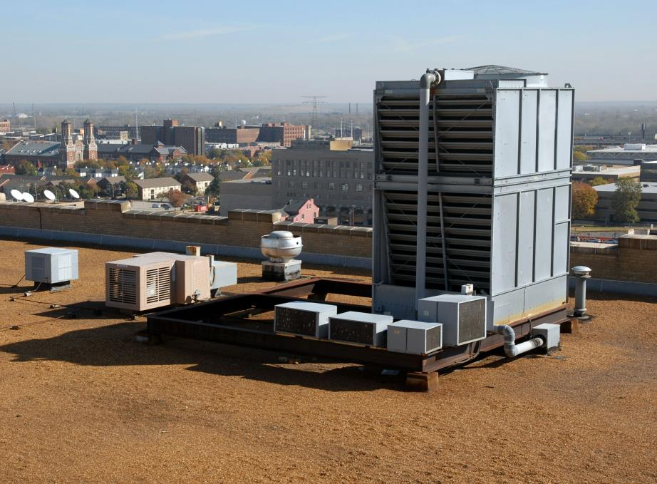 MASS Cooling Tower Installation in Massachusetts