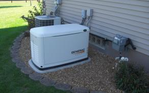 Gas Powered Electrical Generators in Milford, Massachusetts with high voltage and wattage up to 150,000 Watts.