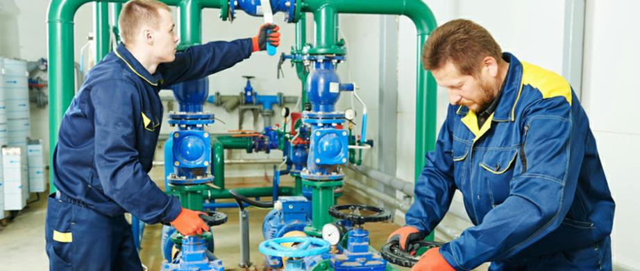 Commercial & Industrail Plumbers in Bedford MA offering complete plumbing, heating and cooling system installation, repair and routine maintenance contracts.